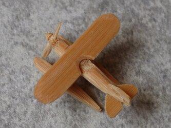 複葉機    竹ひご模型-2の画像