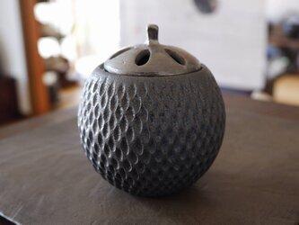 黒彩香炉シルバー1の画像