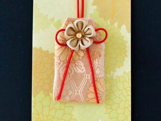 元巫女のお守り袋(金菊紋)の画像