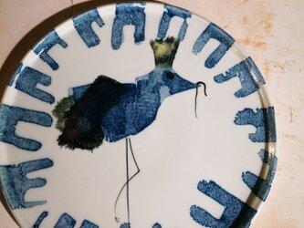 7寸平皿(10-314)鳥キングの画像