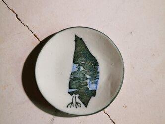 豆皿(10-330)鳥の画像