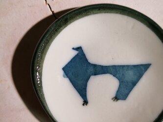 豆皿(10-334)犬の画像