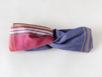 キコイのヘアターバン ふっくらボリューム / アフリカ布ターバンの画像