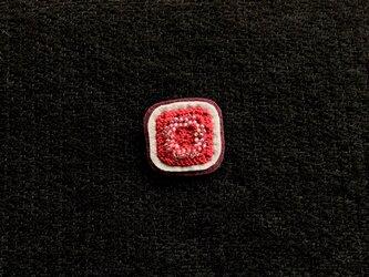 ビーズ編みのブローチ(7)の画像