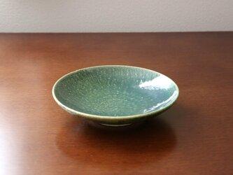 織部釉の浅鉢の画像