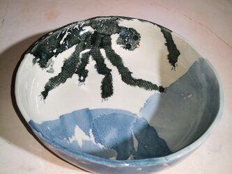 丸皿(10-343)クモの画像