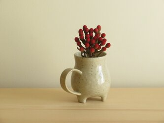 3つ足花瓶 I002の画像
