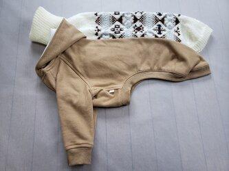 犬服 K様オーダーメイド品ウィペット用パーカー&セーターの画像