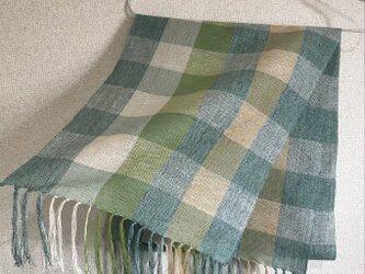 手織りストール A50の画像