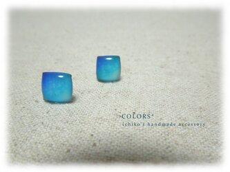 青の小さなピアス-Ⅰの画像
