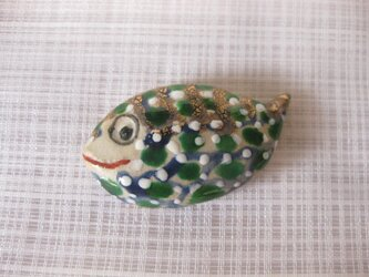 魚の箸置きの画像
