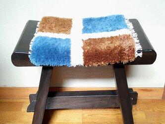 手織り椅子敷き・3 ~wool~の画像