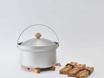 鍋敷き × くさび [ for outdoor ]の画像