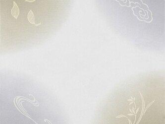 風呂敷 ふろしき    引染 天華文 グレー 正絹 絹100% 45cm×45cmの画像