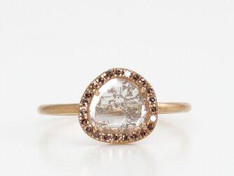 Slice diamond surround ringの画像