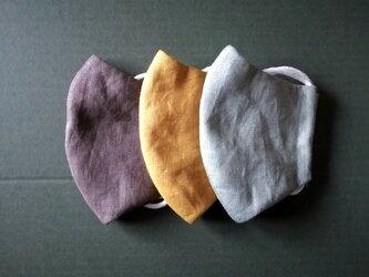 秋色布マスク3枚セットJ*Mサイズの画像