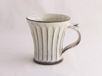 しのぎ手のマグカップ (透明)/オーダー受付可の画像