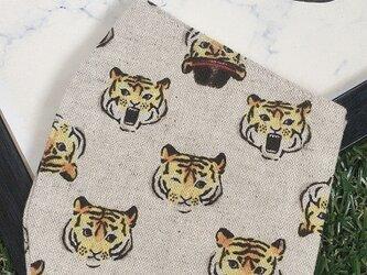立体マスク キッズ オトナ トラ タイガー 帽子の画像