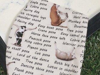 立体マスク キッズ オトナ USAコットン ヨガに夢中な動物たち 豚 牛 鳥の画像