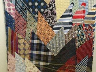 正絹西陣織ネクタイ地ハギレセット021の画像