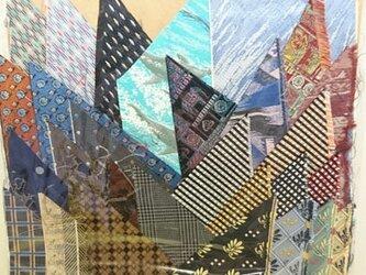 正絹西陣織ネクタイ地ハギレセット023の画像