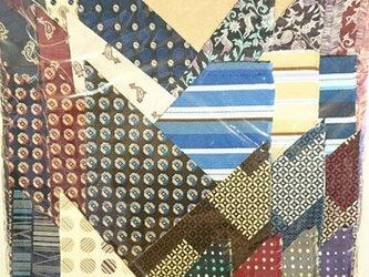 正絹西陣織ネクタイ地ハギレセット024の画像