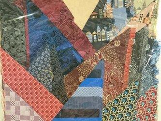 正絹西陣織ネクタイ地ハギレセット025の画像