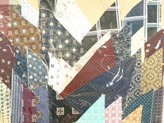 正絹西陣織ネクタイ地ハギレセット026の画像
