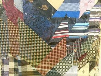 正絹西陣織ネクタイ地ハギレセット027の画像