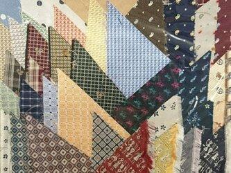正絹西陣織ネクタイ地ハギレセット028の画像
