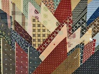 正絹西陣織ネクタイ地ハギレセット029の画像