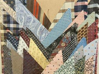 正絹西陣織ネクタイ地ハギレセット030の画像