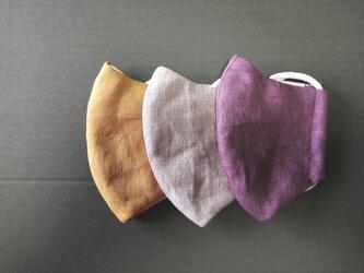 秋色布マスク3枚セットK*Mサイズの画像