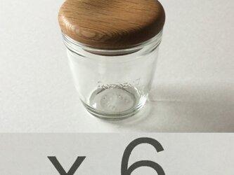 (受注制作)モロゾフのプリンを食べた後にwood cap Wを6sの画像