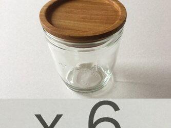 (受注制作)モロゾフのプリンを食べた後にwood cap Fを6sの画像