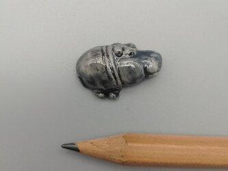 動物石 カバ(灰色)の画像