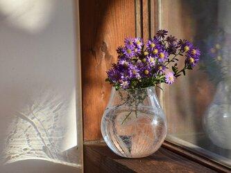 網泡花瓶バスケットの画像