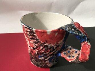 陶芸 手びねり マグカップの画像