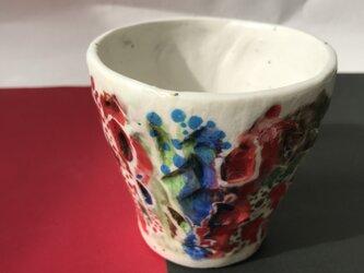 陶芸 手びねり カップの画像
