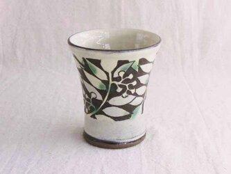 ナナカマドの二彩フリーカップ(透明)の画像