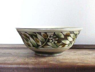 ナナカマドの三彩中鉢(ブーベリー)の画像