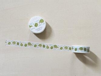 Cheerful forest マスキングテープ 15mm / キウイの画像