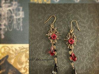耳飾り:spellbound (red)の画像