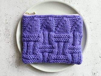 basket (purple)ポーチの画像