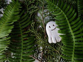 森のおばけブローチの画像