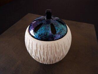 珊瑚砂漆塗り香炉・ポプリケース11の画像