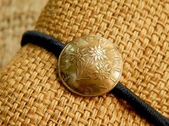 #H159 Austria Coin Hair Elastic(Classic ver)の画像