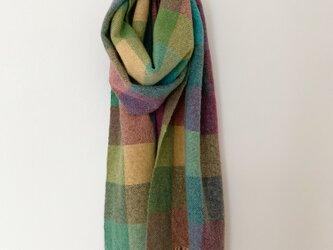 手織りのマフラー[1]の画像