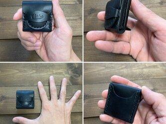 ピックケース・黒(糸・ブラック)の画像