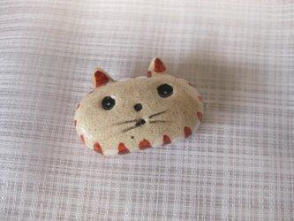 猫の箸置きの画像